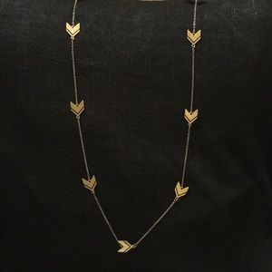 Jewelry - ** 3 for $45 SALE ** Gold Arrow Necklace